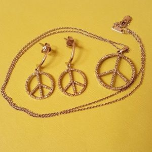 Jewelry - Sterling peace set